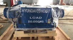 Pa lăng cáp điện Hyundai