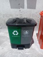 Thùng rác 2 ngăn 40L