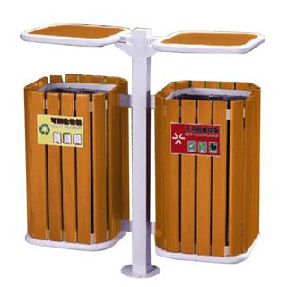 Thùng rác gỗ treo đôi A78-Q