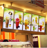 Biển LED menu