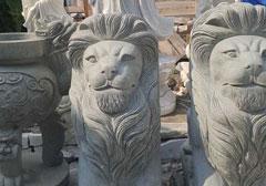 Tượng sư tử đá mẫu 1