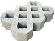 Gạch Block trồng cỏ 8 lỗ - QV 135