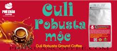 Cà phê Culi Robusta rang mộc