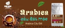 Cà phê Arabica cầu đất rang mộc