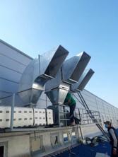 Thi công hệ thống thông gió