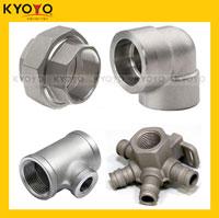 Mẫu chảy chi tiết ống nối Inox Kyoyo