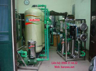 Hệ thống lọc nước RO 2500l/h