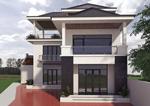 Thiết kế thi công  nhà 2 tầng nông thôn