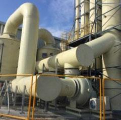 Xử lý khí thải lò hơi đốt than