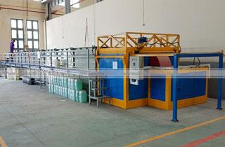 Hệ thống bể xử lý và sấy khô