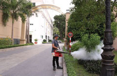 Kiểm soát côn trùng  dùng hóa chất