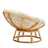 Big supply rattan chair- papasan rattan chai