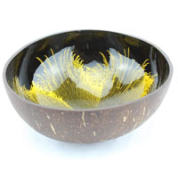 Viet Nam Handicraft Coconut Bowl