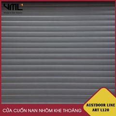 Cửa cuốn nan nhôm Austdoor Line