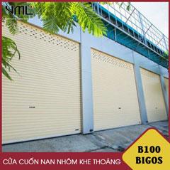 Cửa cuốn nan nhôm Bigos