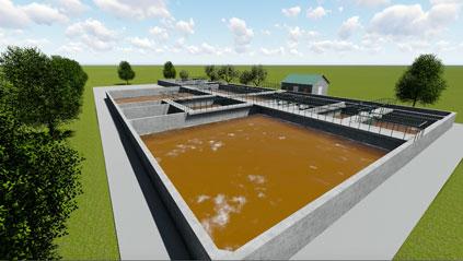 Xử lý nước thải sản xuất cao su