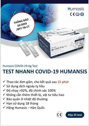 Humasis COVID-19 Ag Test