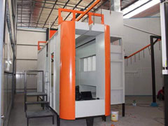 Hệ thống sơn tĩnh điện bán tự động