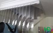Rèm nhựa PVC ngăn cầu thang
