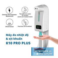 Máy đo nhiệt độ và khử trùng tay