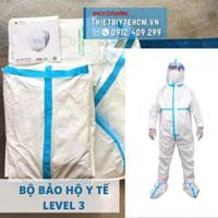 Quần áo bảo hộ chống dịch