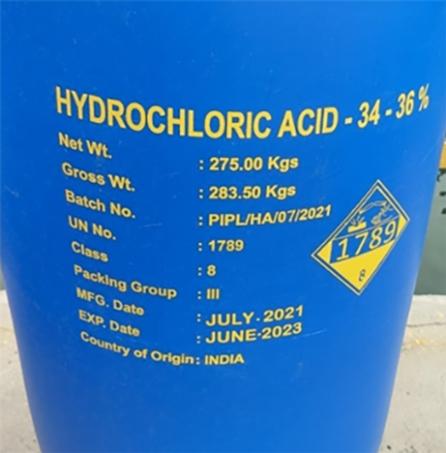 Hydrochloric Acid 34-36%