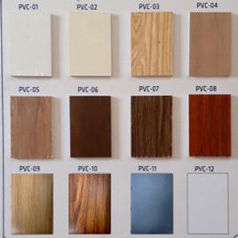 Ván nhựa Pitech phủ vân PVC 18